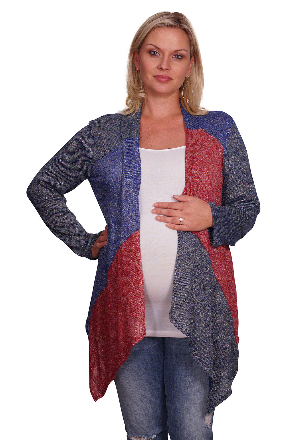 Metallic Plus Cardigan