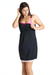 Black Currant Nursing Chemise - Mommylicious