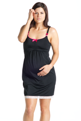 Black Currant Nursing Chemise