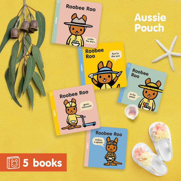 Australian board book series for babies and toddlers