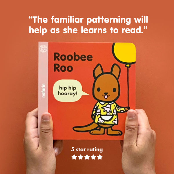 Patterning in children's books helps young minds undersatnd reading concepts.