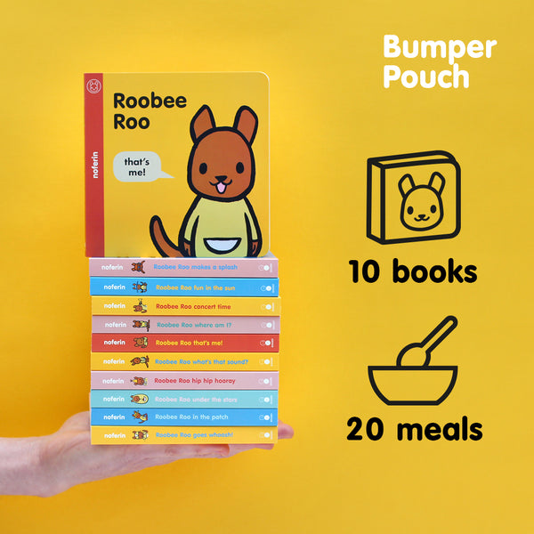 Bumper Pouch | 10 Books | Gives 20 Meals