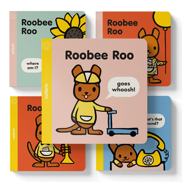 newborn baby gifts and book sets for toddlers about a kangaroo