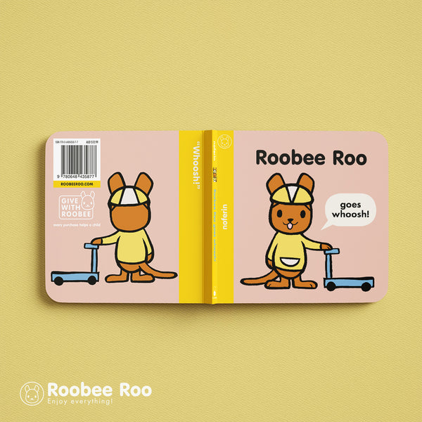 Goody Press, an australian book publisher, demonstrates an innovative design for front and back covers of their 2019 publications, Roobee Roo