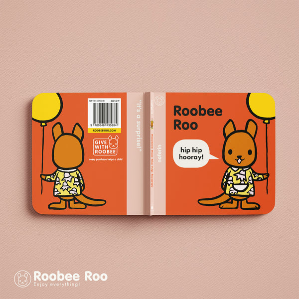 made especially for little hands, the Roobee Roo boardbook series is a great example of preschool target marketing