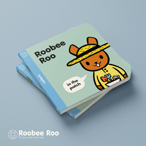 love to garden boardbook ideas generate an appreciation of the outdoors, as demonstrated in kids books like Roobee Roo