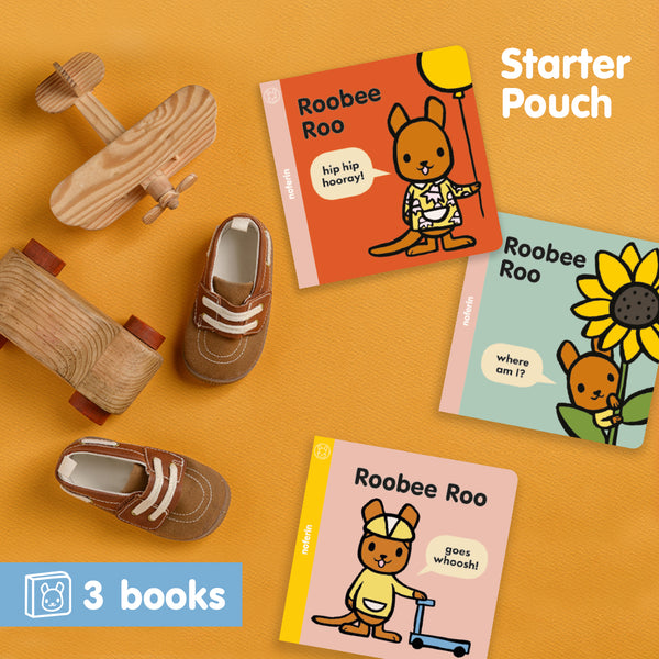 Australian book collection for preschool children to help learn to read, Roobee Roo.