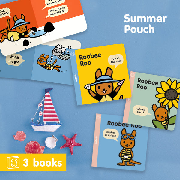 Summer Pouch | 3 Books | Gives 3 Meals