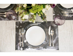 Swirl Black - Placemat