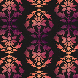 Fall Brocade Charger (ENLARGED TO SHOW DETAIL) - (SQUARE)