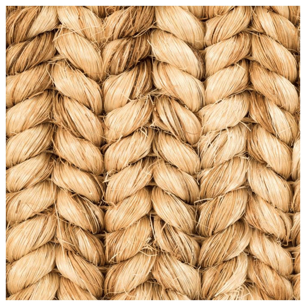 Fiber Weave Charger (ENLARGED TO SHOW DETAIL) - (SQUARE)