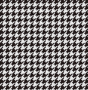 Houndstooth Charger (ENLARGED TO SHOW DETAIL) - (SQUARE)