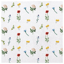 Load image into Gallery viewer, Needle Point Garden Charger (ENLARGED TO SHOW DETAIL) - (SQUARE)