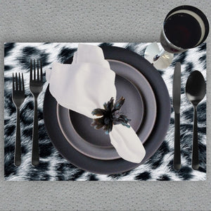 Snow Leopard - Placemat