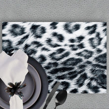 Load image into Gallery viewer, Snow Leopard - Placemat