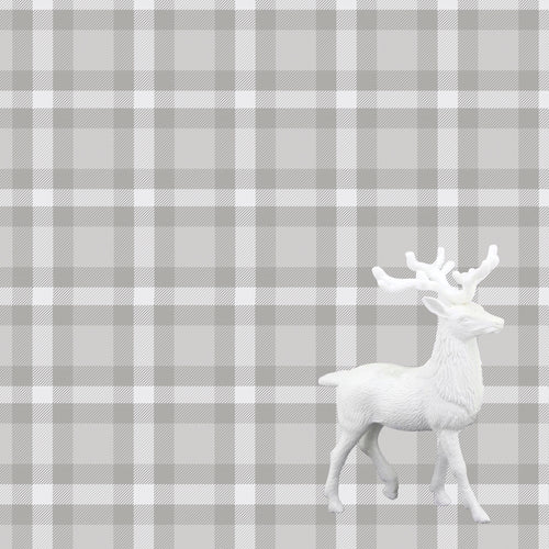 Prancer Plaid Charger - (SQUARE)