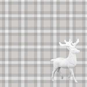 Prancer Plaid Charger (ENLARGED TO SHOW DETAIL) - (SQUARE)