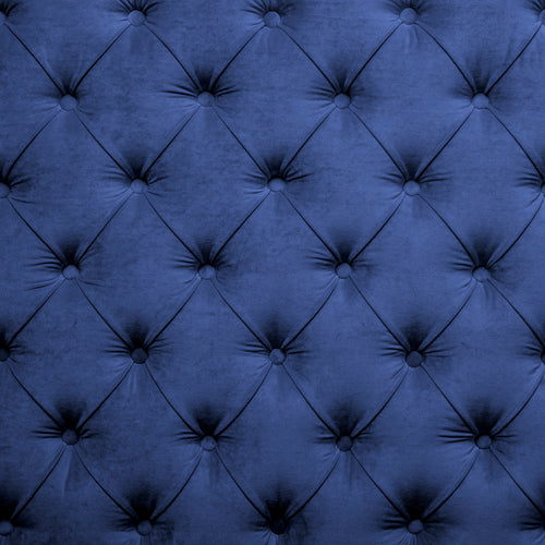 Tufted Midnight Blue Charger (ENLARGED TO SHOW DETAIL) - (SQUARE)