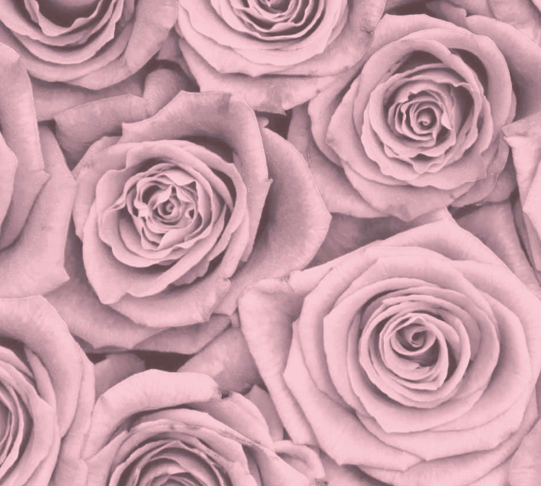 Blush Blossoms Charger (ENLARGED TO SHOW DETAIL) - (SQUARE)
