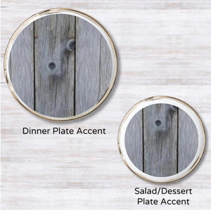 Rustic Plate Accent