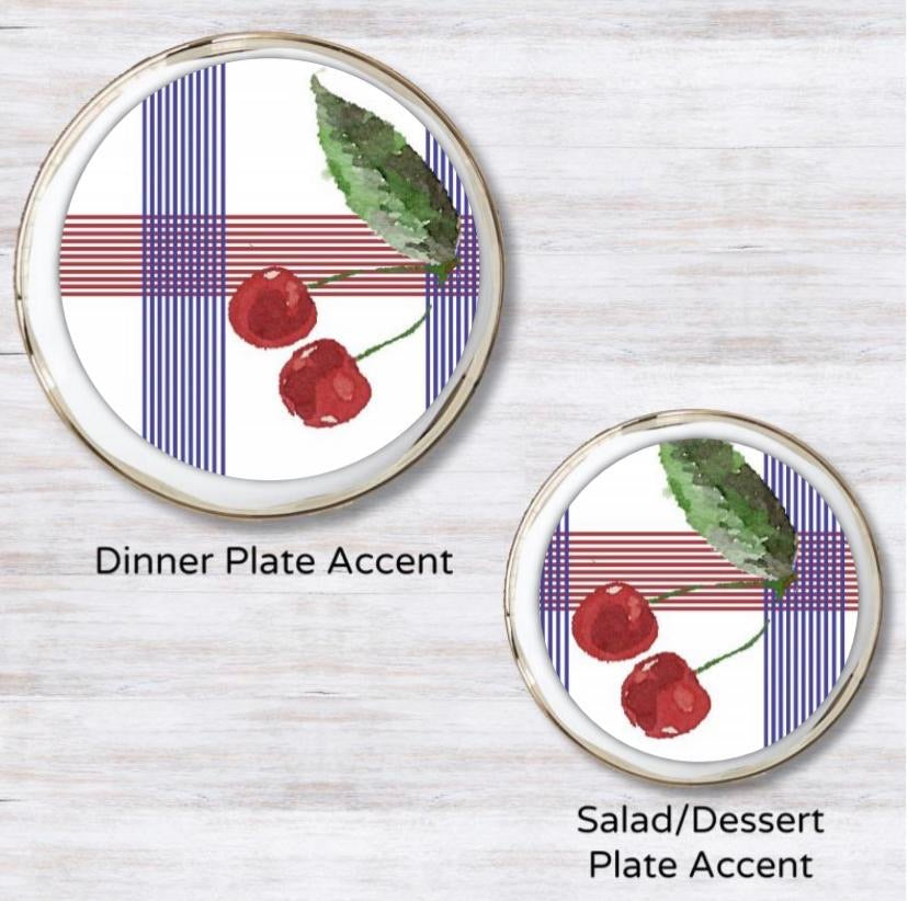 Cherry on Top Plate Accent