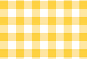 Gingham Yellow - Placemat