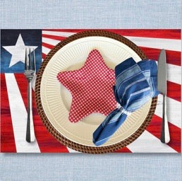 Shine on USA - Placemat