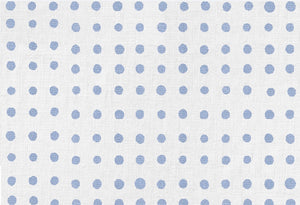 Blue Painted Dot Placemat