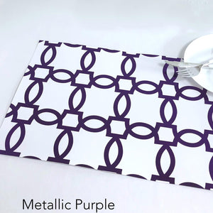 Foil Iron Links - Placemat