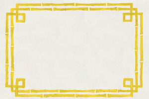 Bamboo Yellow - Placemat