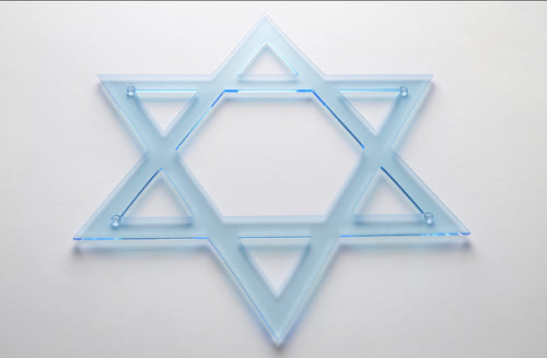 Star of David Chargers (set of 2)