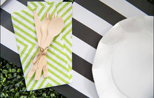 Load image into Gallery viewer, Nero Stripe - Placemat