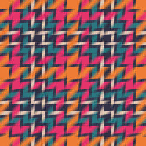 Tartan Spice Charger (ENLARGED TO SHOW DETAIL) - (SQUARE)
