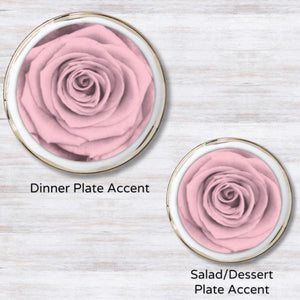 Blush Blossom  Plate Accent