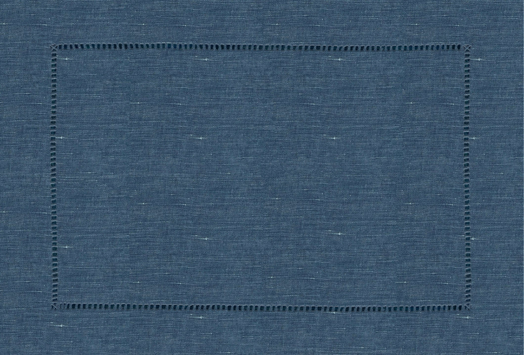 Chambray Hemstitch Placemat