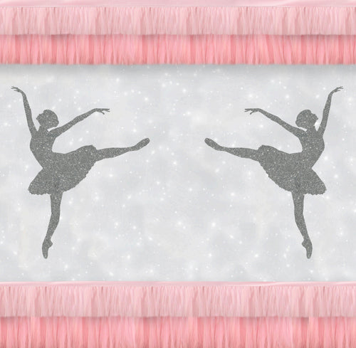 Ballet Matinee Charger (ENLARGED TO SHOW DETAIL) - (SQUARE)