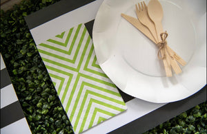 Nero Stripe - Placemat