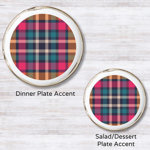 Tartan Spice Plate Accent