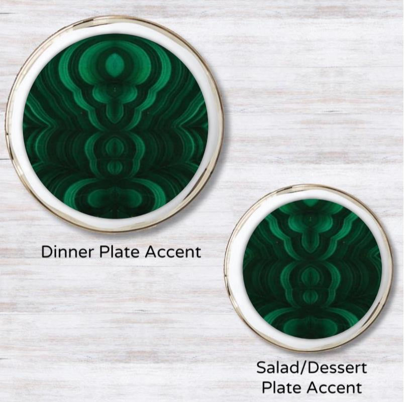 Malachite Plate Accent