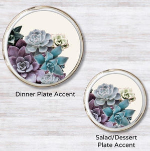 Desert Bloom Plate Accent