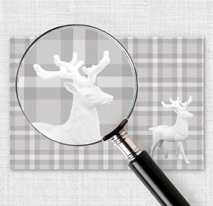 Prancer Plaid - Placemat
