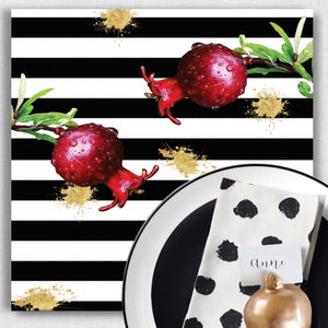 Pomegranate Splash - Placemat NEW ITEM