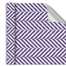 Load image into Gallery viewer, Herringbone Purple