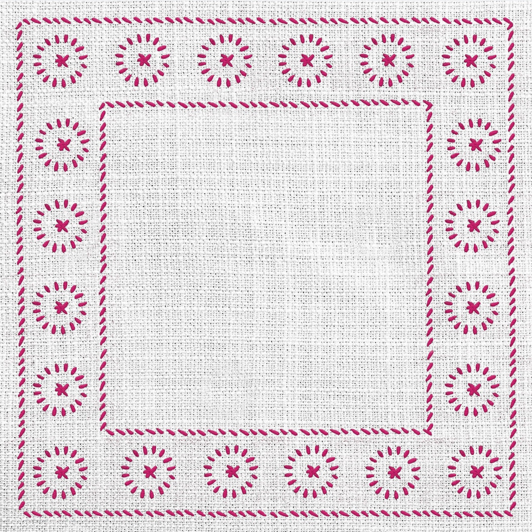Calypso Charger (ENLARGED TO SHOW DETAIL) - (SQUARE)
