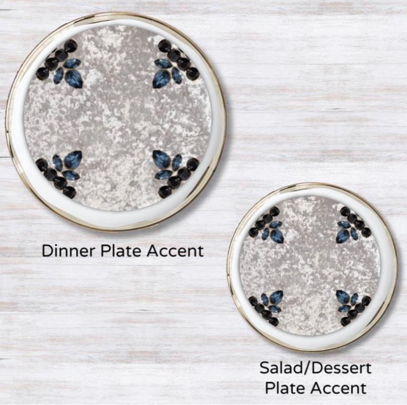 Velvet Treasure Plate Accent