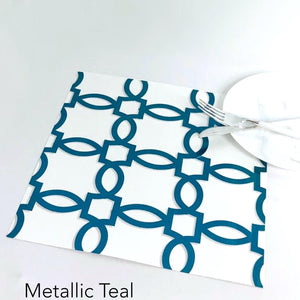 Foil Iron Links - Charger - (SQUARE)
