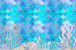 Mermaid Glitz - Placemat