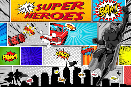 Calling all Superheroes - Placemat
