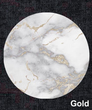 Load image into Gallery viewer, Metallic Gold Marble Plate Accent