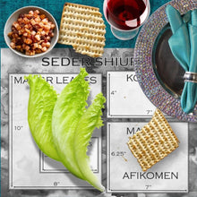 Load image into Gallery viewer, Seder Measurement Card - Placemat